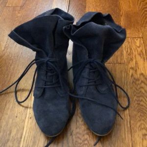 Shoes - Blue Booties